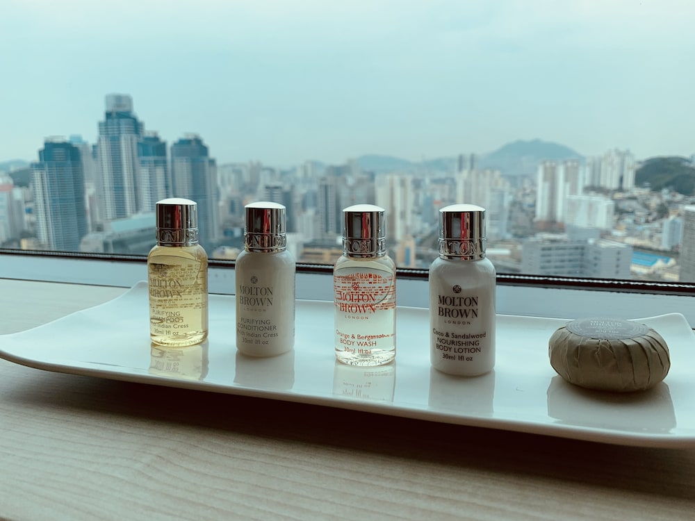 Bathroom Amenities, Lotte Hotel Busan