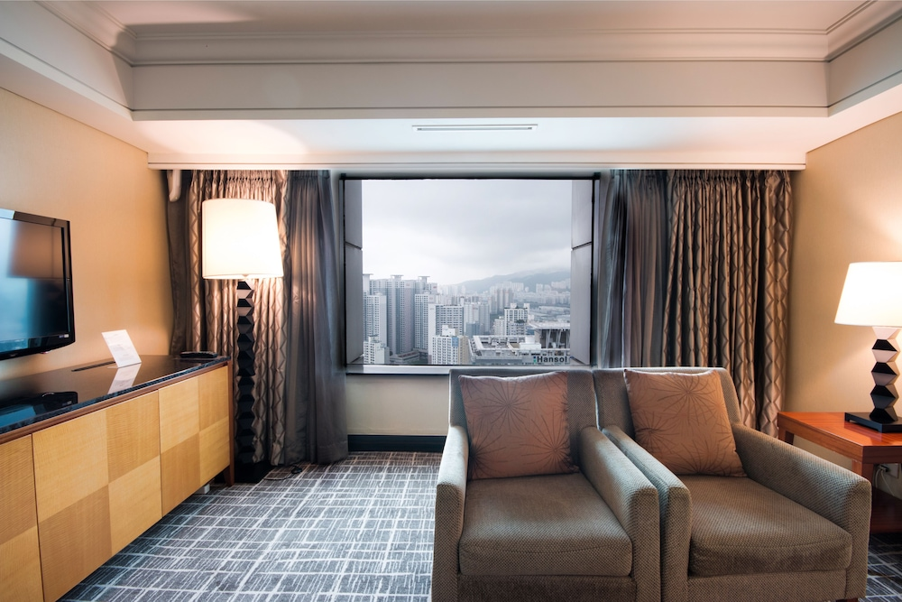 Living Area, Lotte Hotel Busan