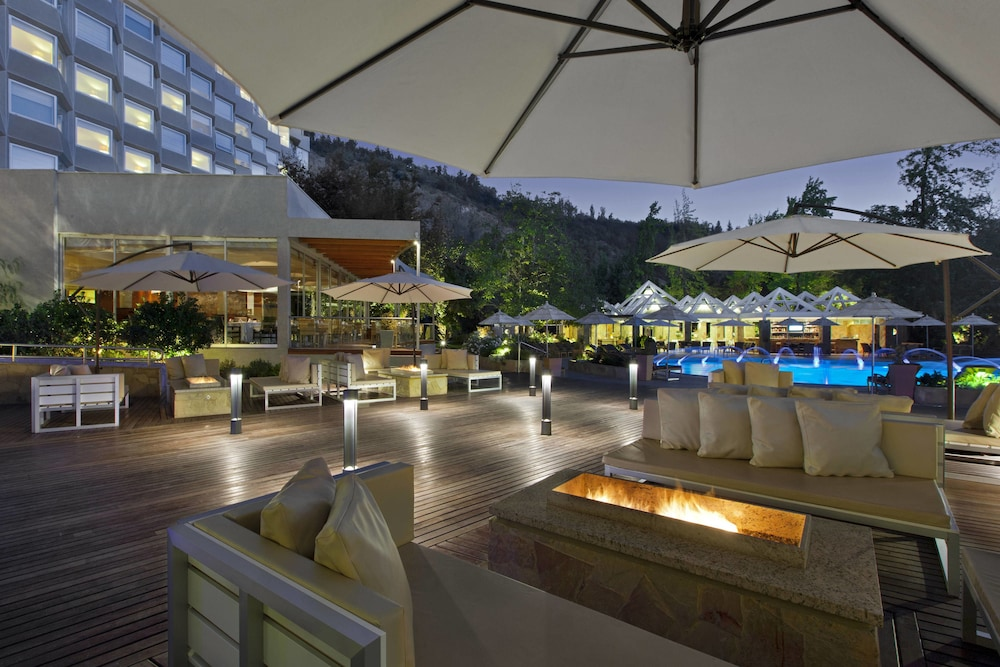 Outdoor Dining, Sheraton Santiago Hotel and Convention Center