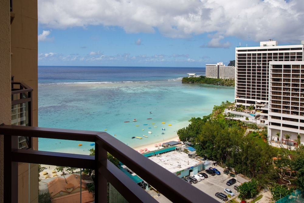 View from Room, Dusit Beach Resort Guam
