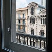 Utsikt mot gatan