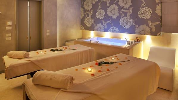 Sale per trattamenti di coppia, sauna, bagno turco, bagno turco/hammam