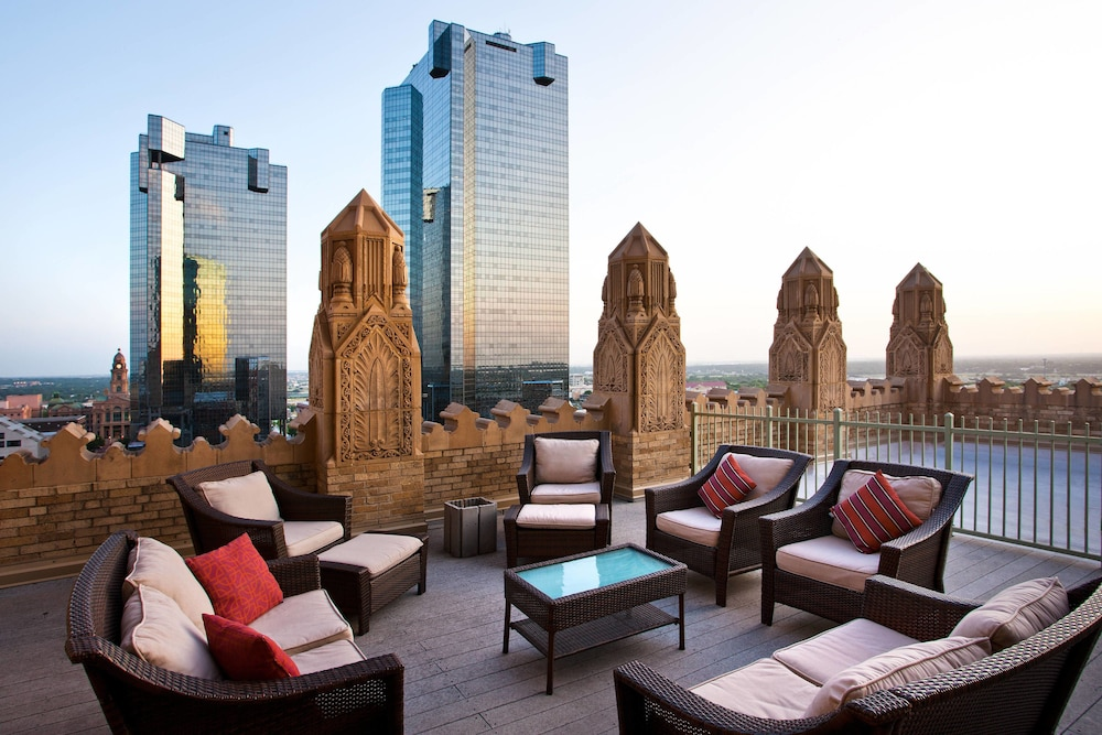 Rooftop terrace, Courtyard by Marriott Fort Worth Downtown/Blackstone