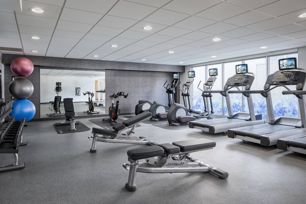 Fitness Facility, Courtyard by Marriott Fort Worth Downtown/Blackstone