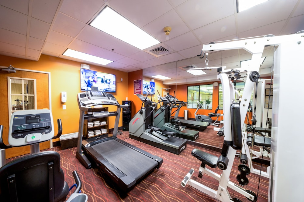 Gym, AmericInn by Wyndham Denver Airport