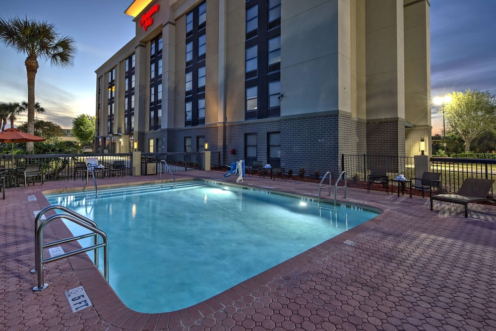 Pool, Hampton Inn Orlando-Maingate South