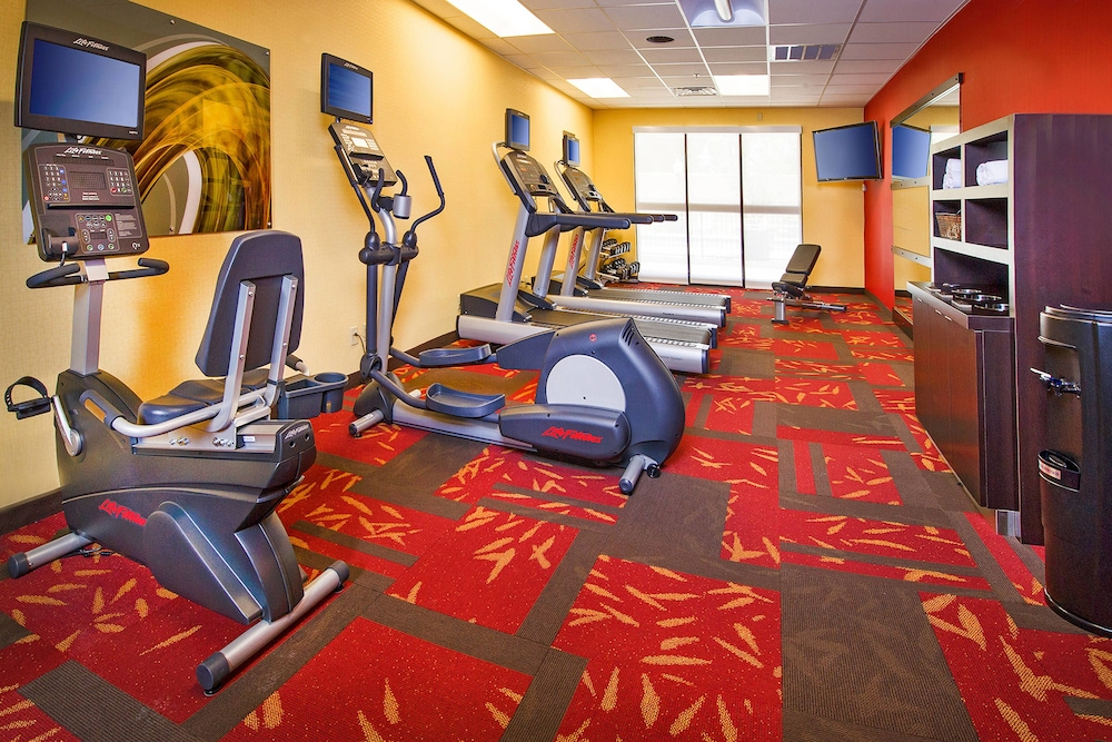 Fitness Facility, Courtyard by Marriott North Charleston Airport/Coliseum