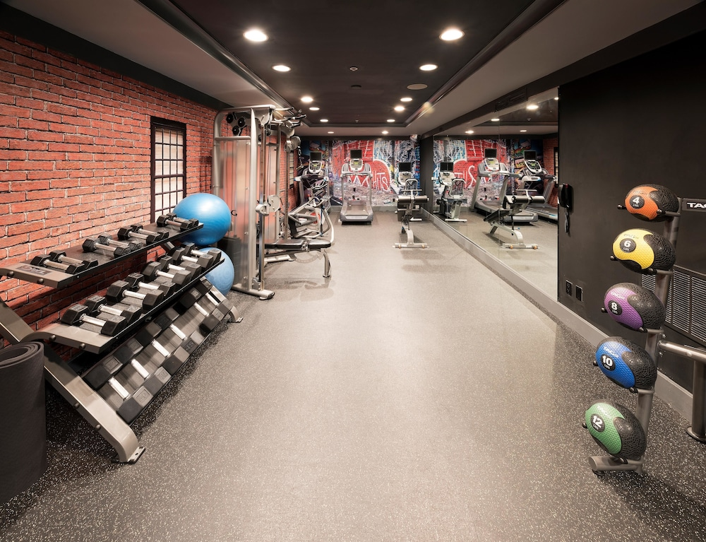 Fitness Facility, Hotel Zelos San Francisco