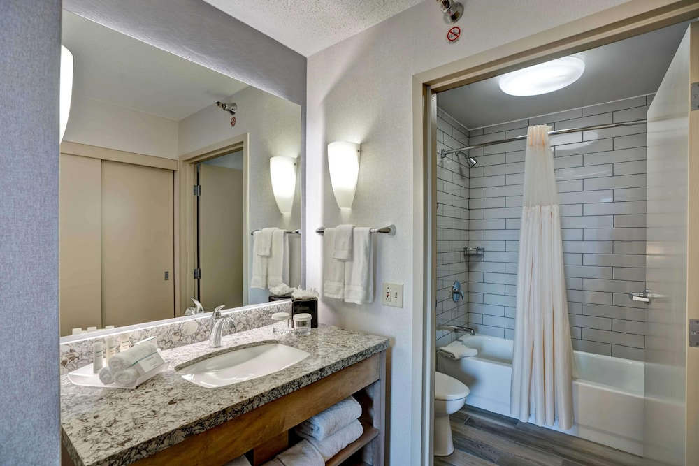 Bathroom, Homewood Suites by Hilton Chicago Downtown