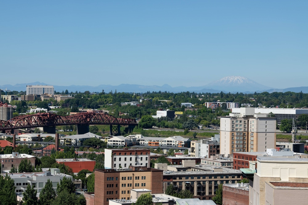 View from Room, The Bidwell Marriott Portland
