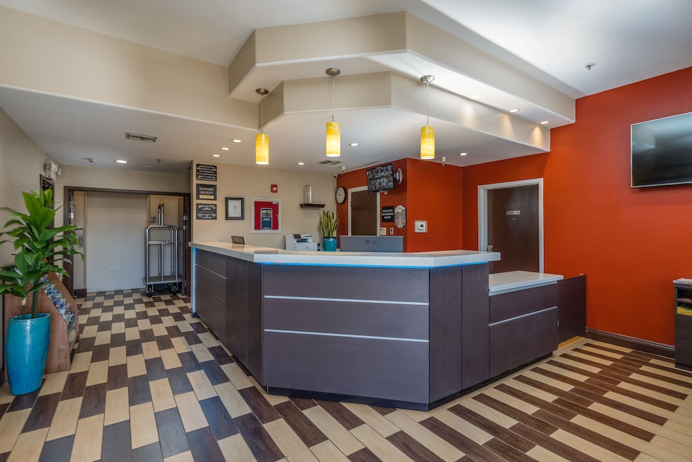 Reception, Super 8 by Wyndham San Bruno /SF Intl Arpt West