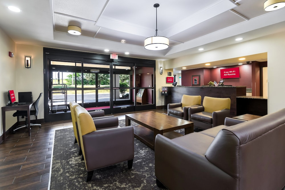 Lobby, Red Roof Inn Murfreesboro