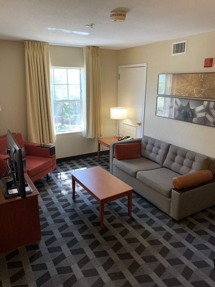 Living Area, TownePlace Suites by Marriott Tampa North/I-75 Fletcher
