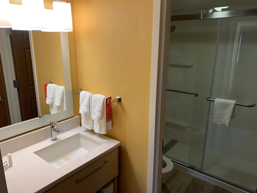 Bathroom, TownePlace Suites by Marriott Tampa North/I-75 Fletcher