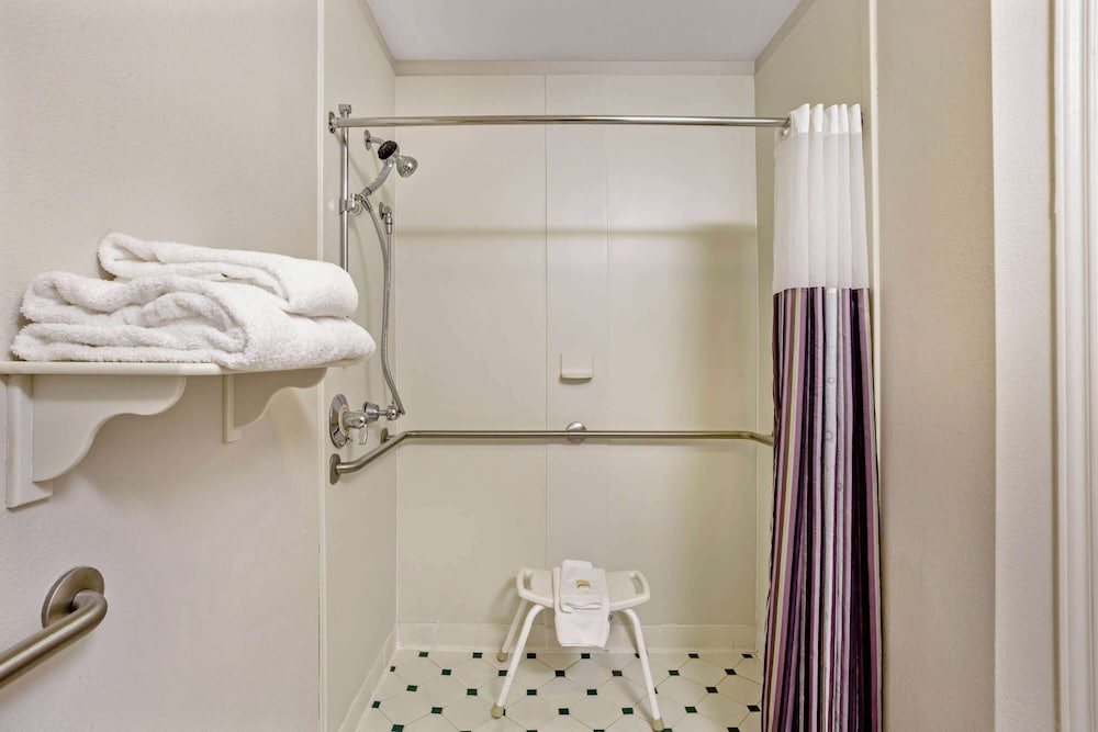 Bathroom Shower, La Quinta Inn & Suites by Wyndham Winston-Salem