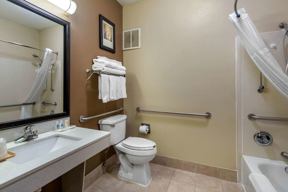 Bathroom, Comfort Suites The Colony - Plano West