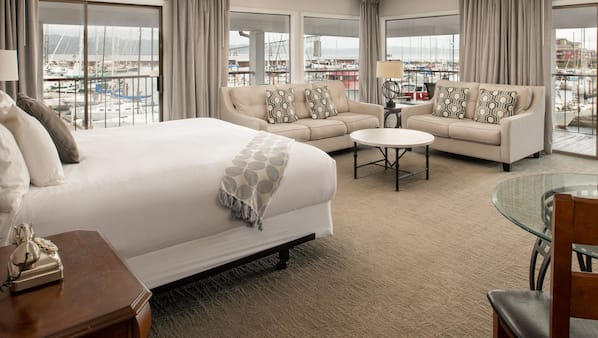 Premium bedding, down comforters, iron/ironing board, free WiFi