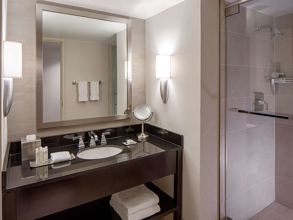 Bathroom, DoubleTree by Hilton Hotel Houston - Greenway Plaza