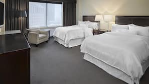 Premium bedding, pillowtop beds, in-room safe, iron/ironing board