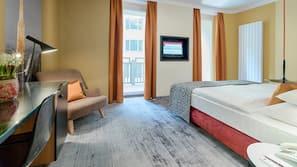 Minibar, Zimmersafe, schallisolierte Zimmer, kostenloses WLAN
