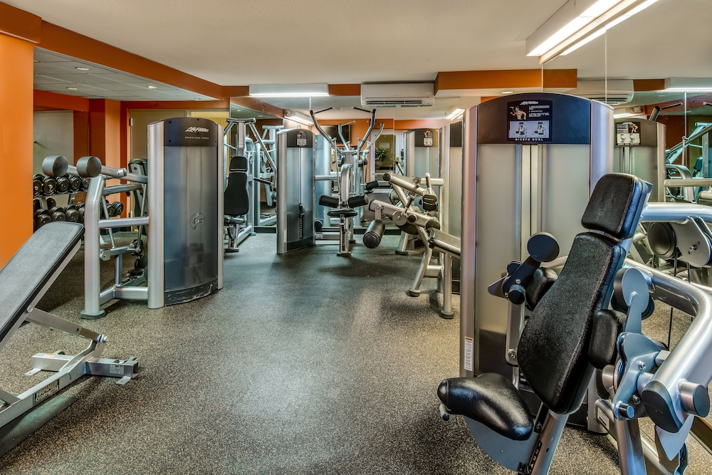 Gym, Crowne Plaza Hotel Chicago O'Hare