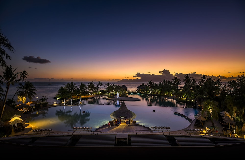 View from Property, InterContinental Resort Tahiti