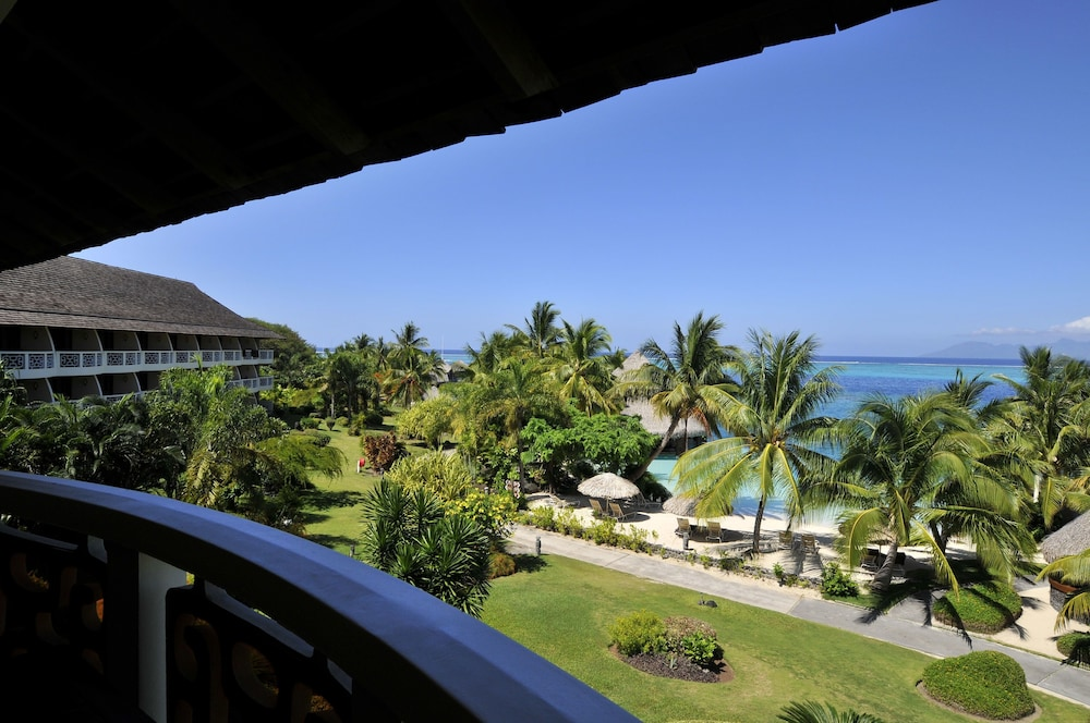 Balcony View, InterContinental Resort Tahiti