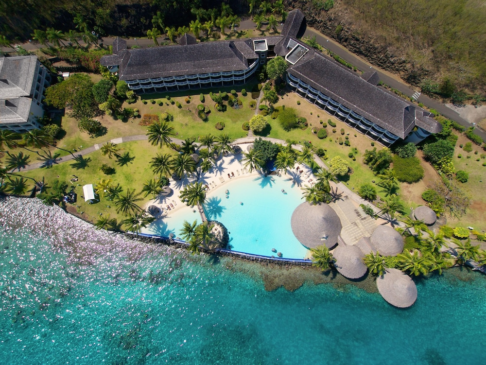 Aerial View, InterContinental Resort Tahiti