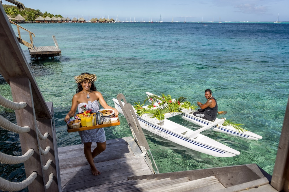 In-Room Dining, InterContinental Resort Tahiti