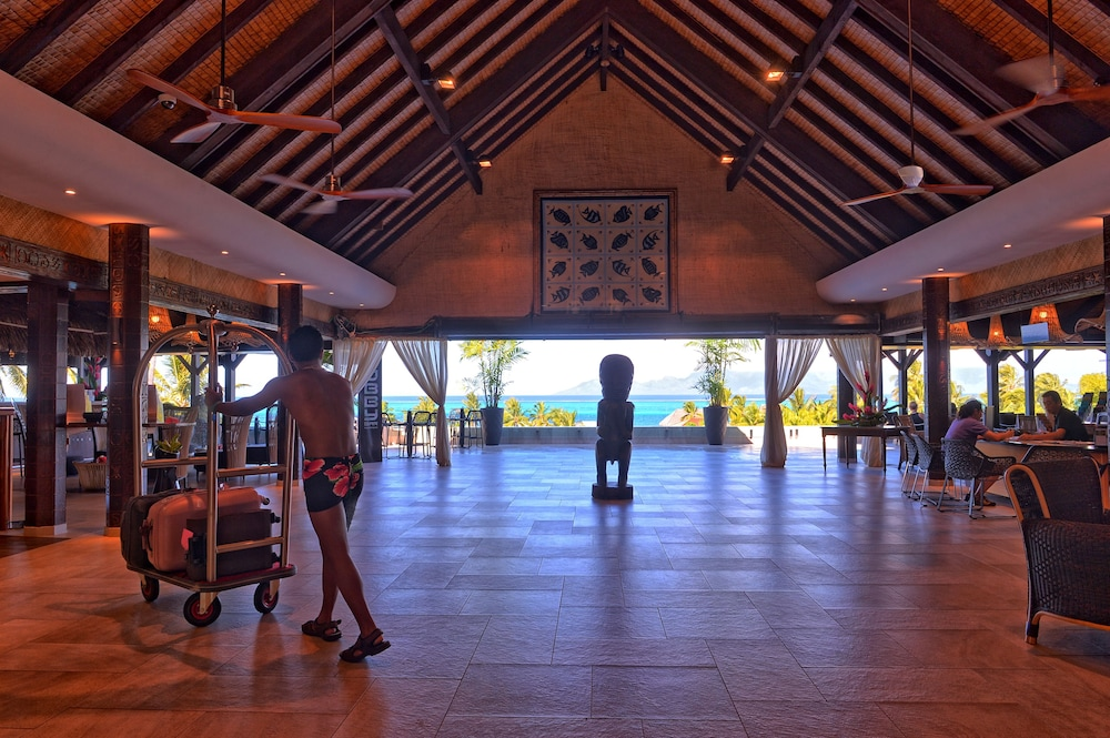Lobby, InterContinental Resort Tahiti