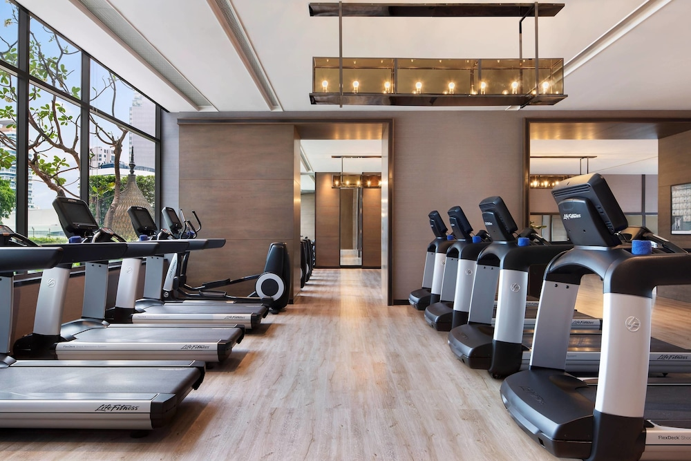 Fitness Facility, Bangkok Marriott Marquis Queen's Park