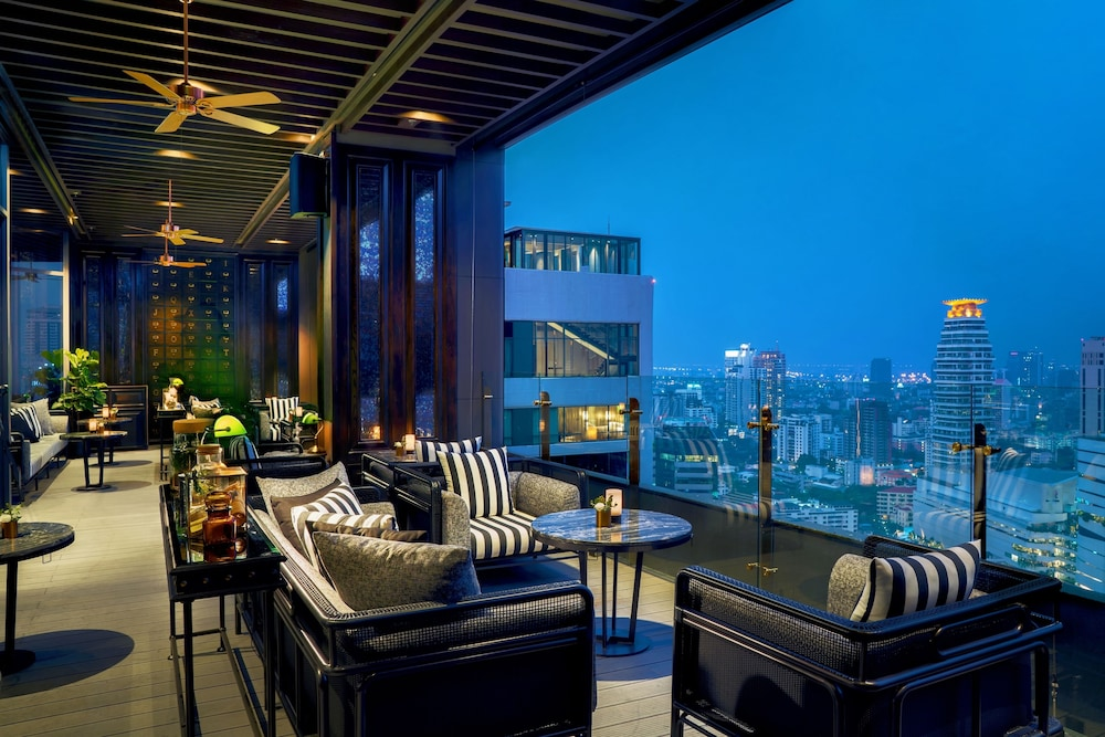 Lounge, Bangkok Marriott Marquis Queen's Park