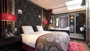 Premium bedding, free minibar, in-room safe, individually decorated