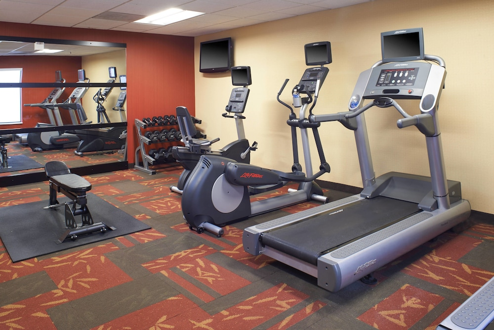 Fitness Facility, Courtyard by Marriott Columbus Dublin
