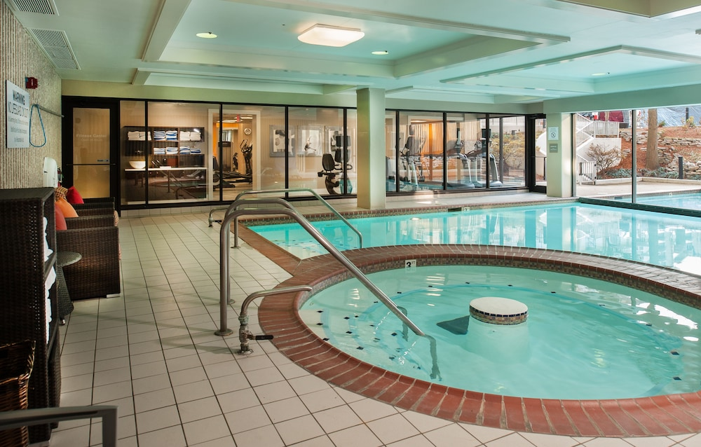 Indoor Pool, Marriott St. Louis Airport