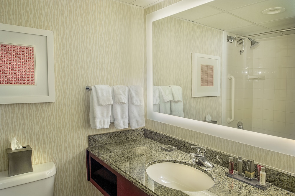Bathroom, Marriott St. Louis Airport