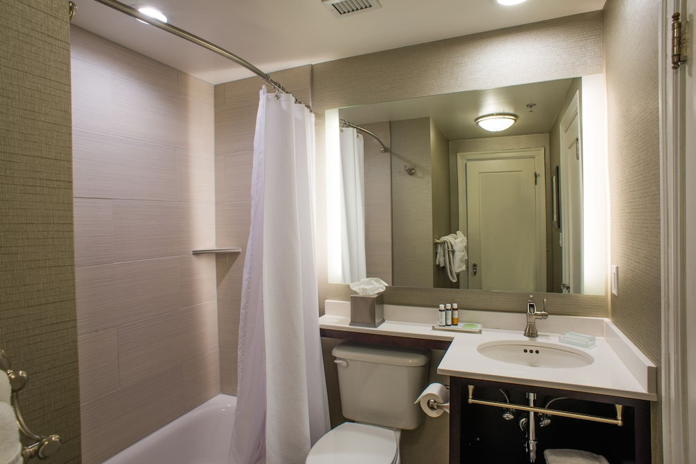 Bathroom, Hotel Alex Johnson Rapid City, Curio Collection by Hilton