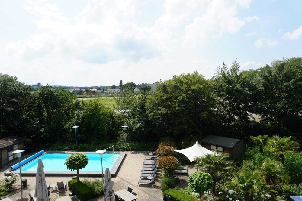 View from Room, Novotel Maastricht