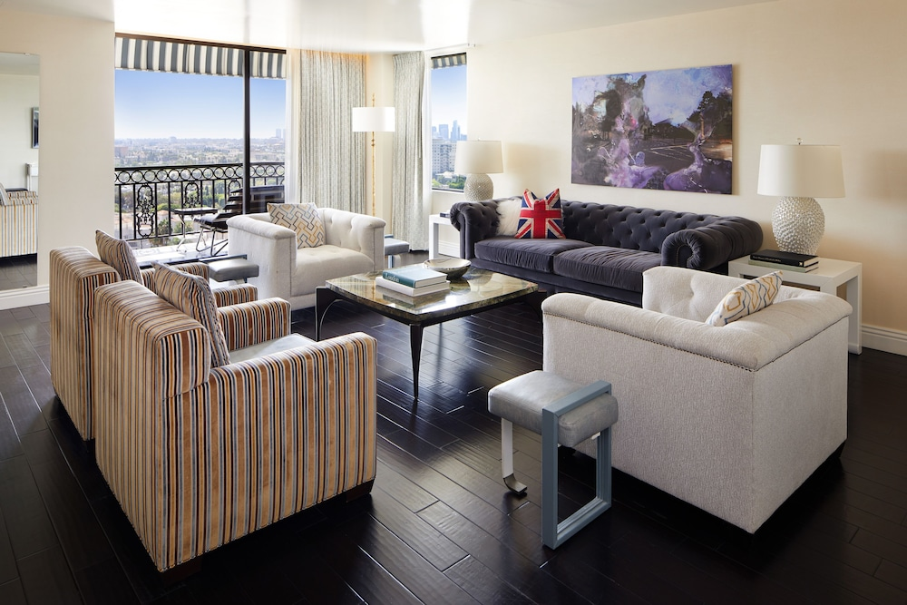 Living Room,  The London West Hollywood at Beverly Hills