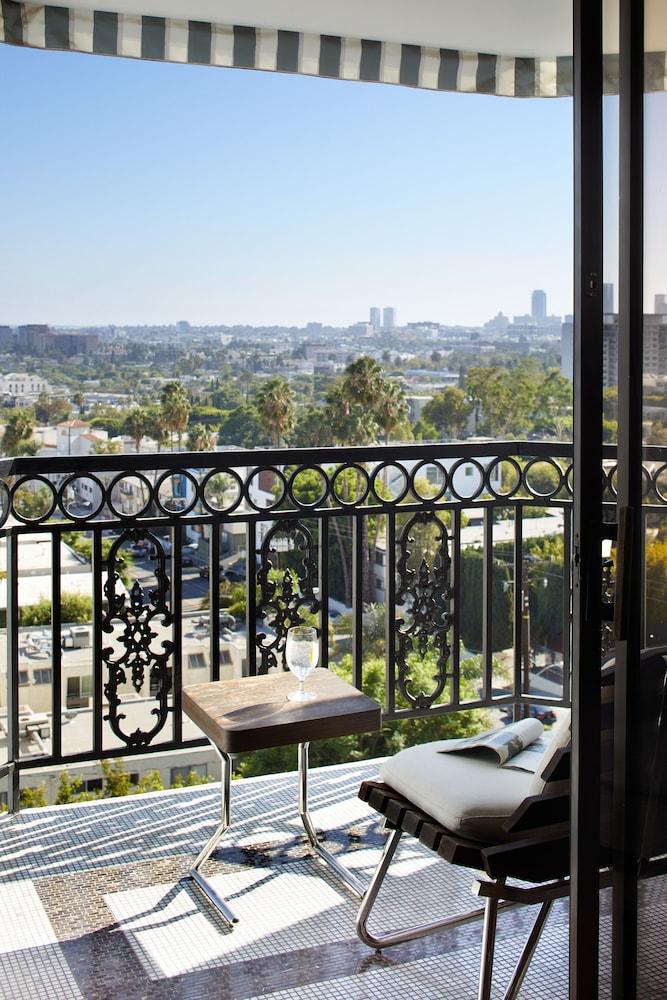 Balcony,  The London West Hollywood at Beverly Hills