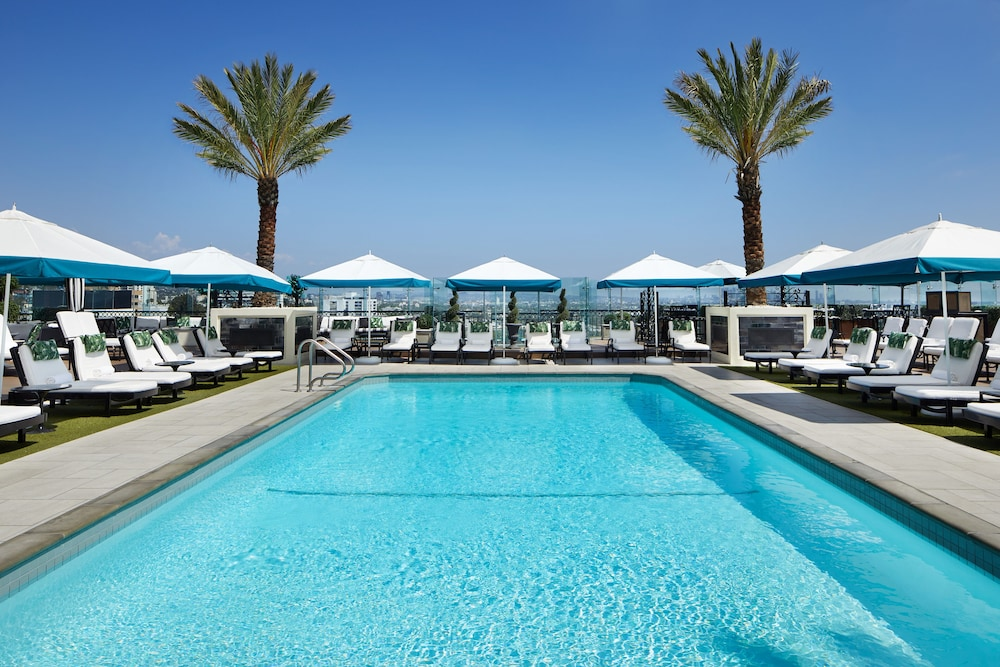 Rooftop Pool,  The London West Hollywood at Beverly Hills