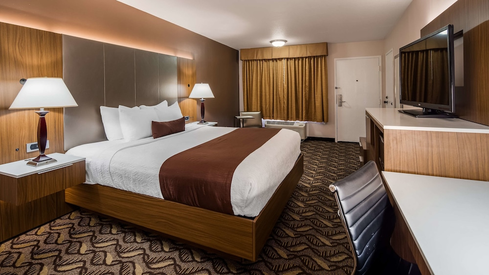 Room, Best Western Airport Plaza Inn - Los Angeles LAX Hotel