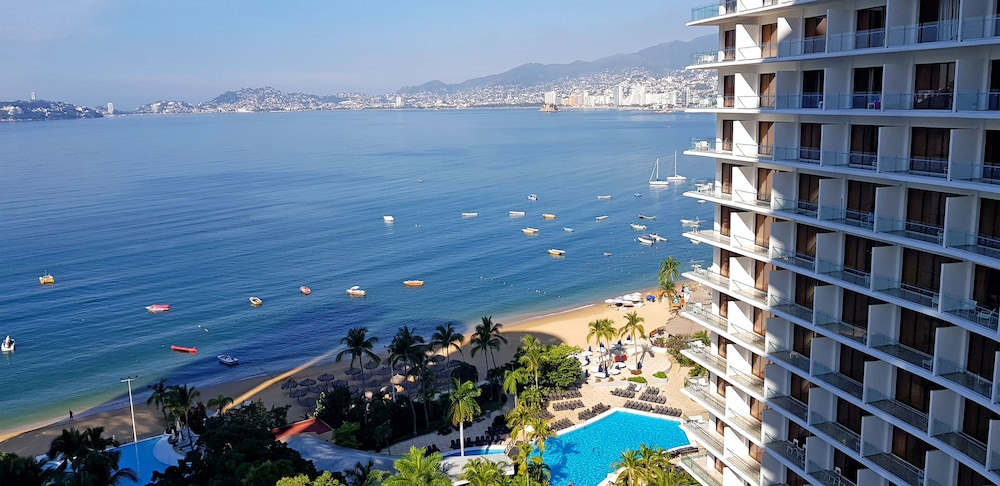 View from Room, Grand Hotel Acapulco