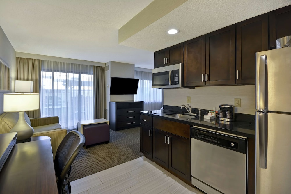 Living Area, Homewood Suites by Hilton Indianapolis Carmel
