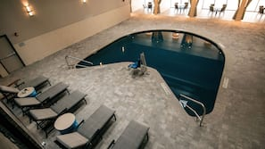 Indoor pool, cabanas (surcharge), sun loungers