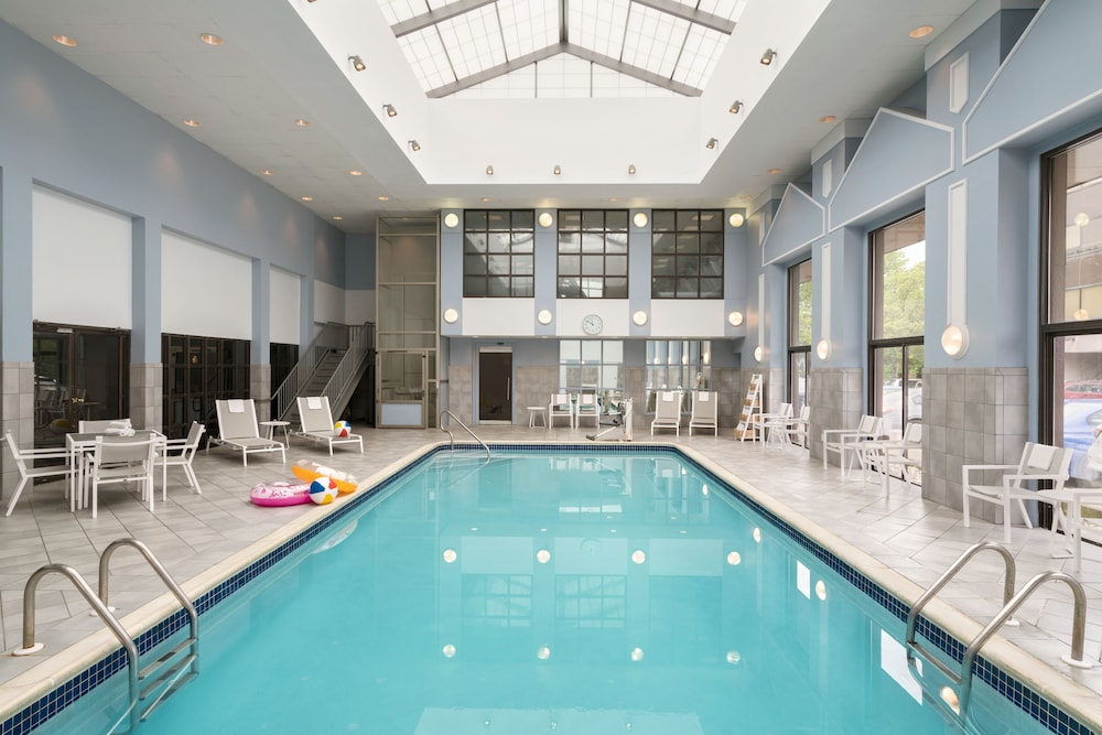 Indoor Pool, Crowne Plaza Englewood, an IHG Hotel