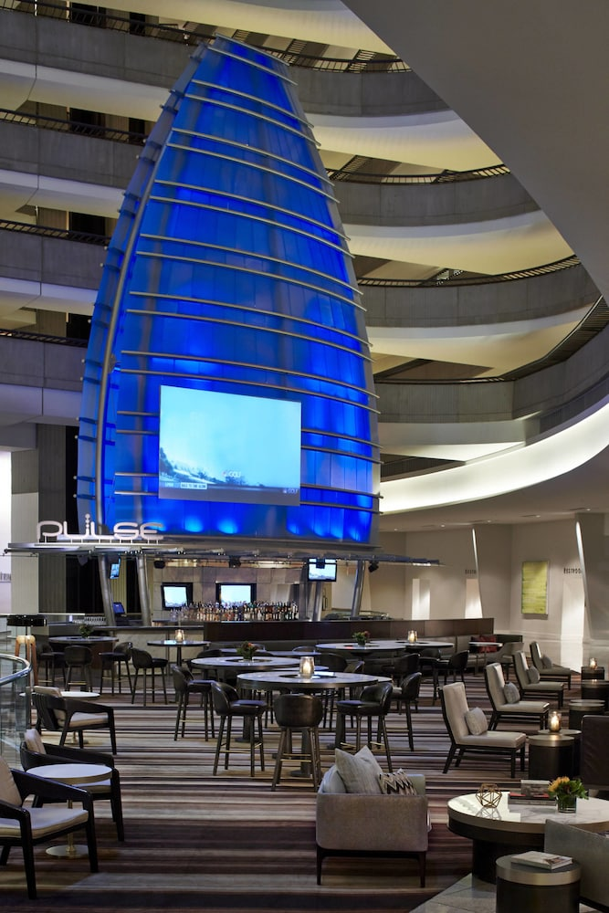 Restaurant, Atlanta Marriott Marquis