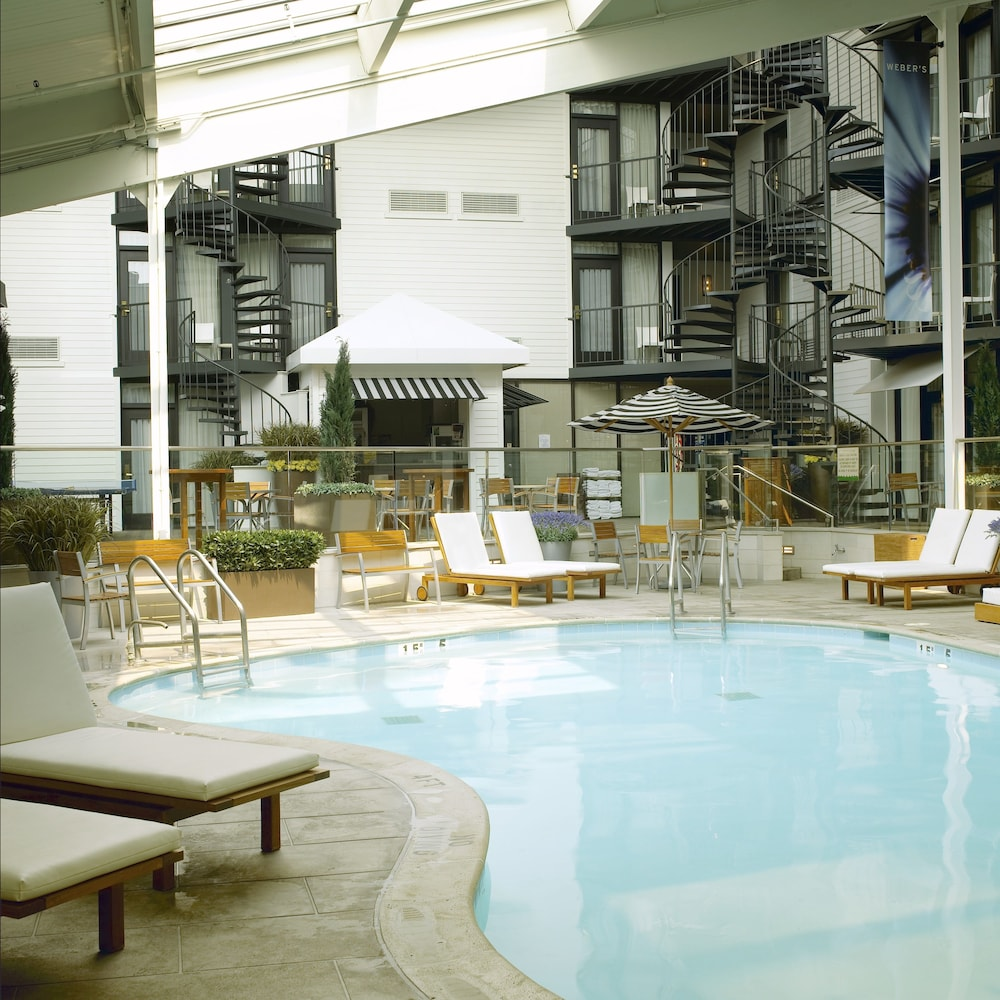 Indoor Pool, Weber's Hotel & Restaurant