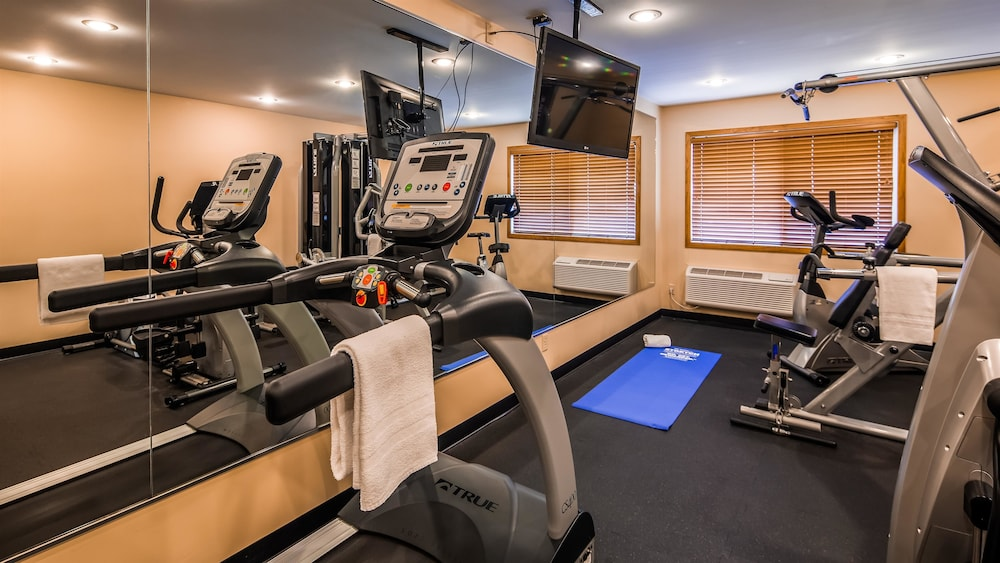 Fitness Facility, Best Western Inn