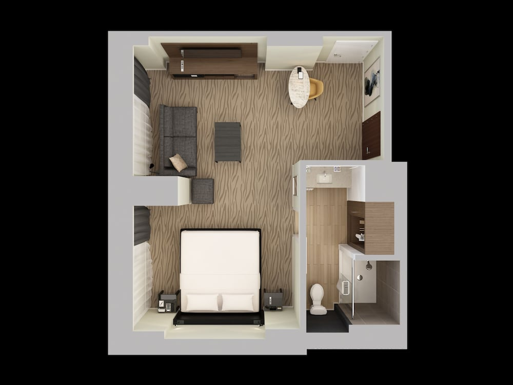 Floor plan, Hyatt Regency Deerfield